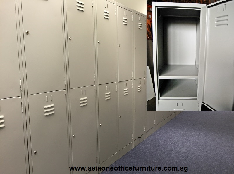 2 tier Metal Steel Lockers