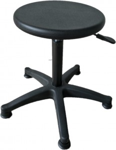 Hard Rubber Operator Stools